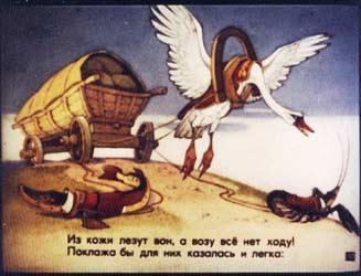 Басня И. А. Крылова — короткий...
